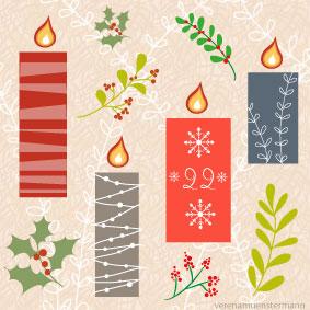 weihnachten, advent, winter, kerzen, christmas