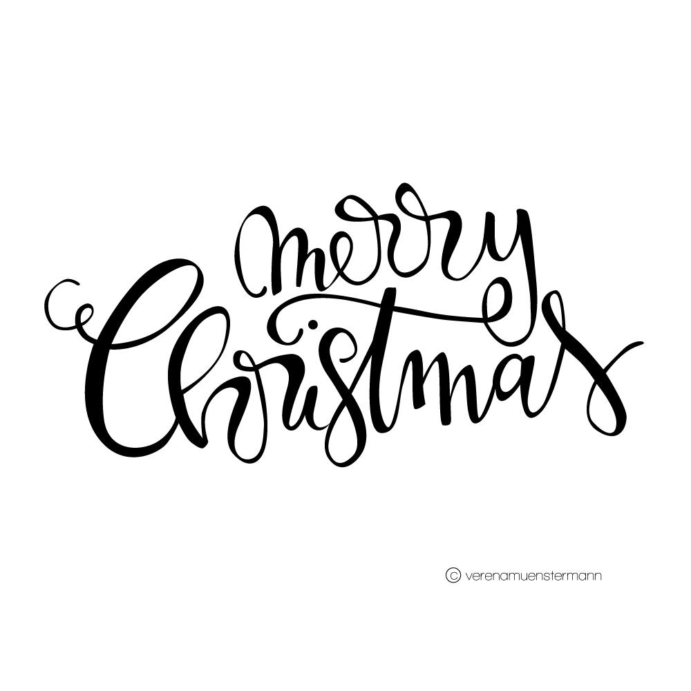 Verena Münstermann wünscht frohe Weihnachten
