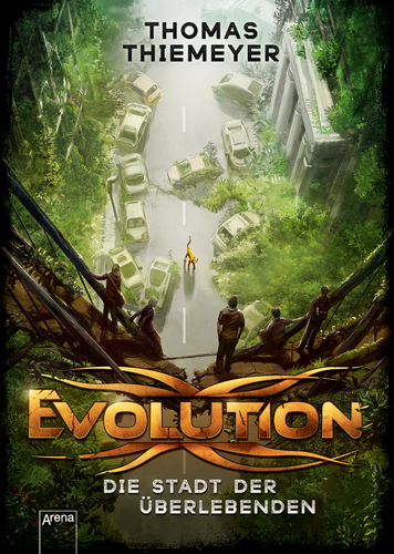 Cover Thomas Thiemeyer Evolution
