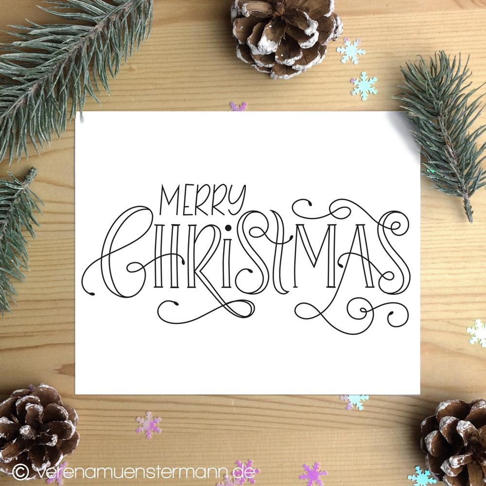 frohe Weihnachten verena Münstermann