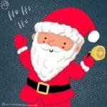 Verena Muenstermann Weihnachtlich illustration Weihnachtsmann