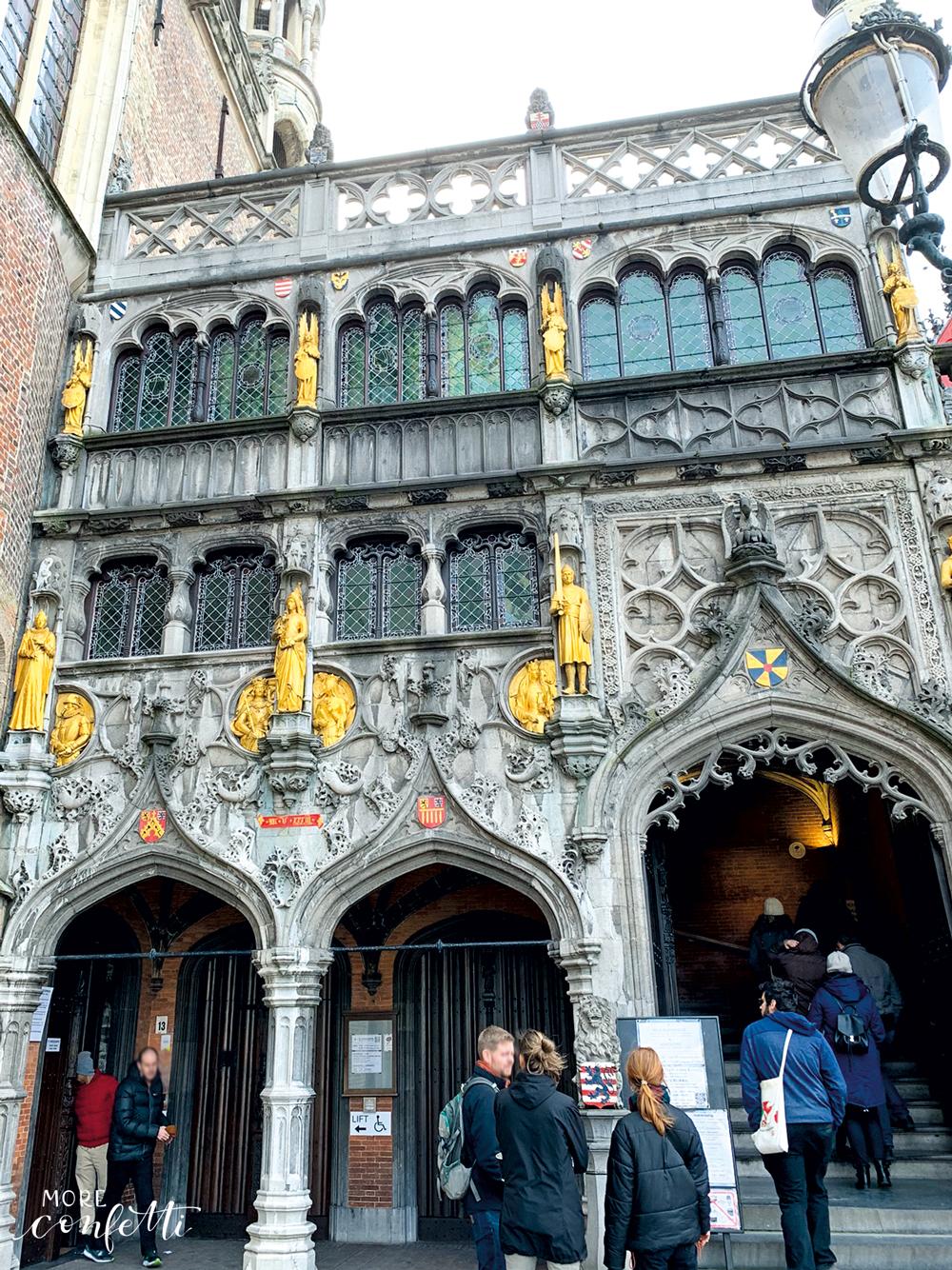 Heilig-Blut-Basilika - kleine Tour durch Brügge - verenamuenstermann