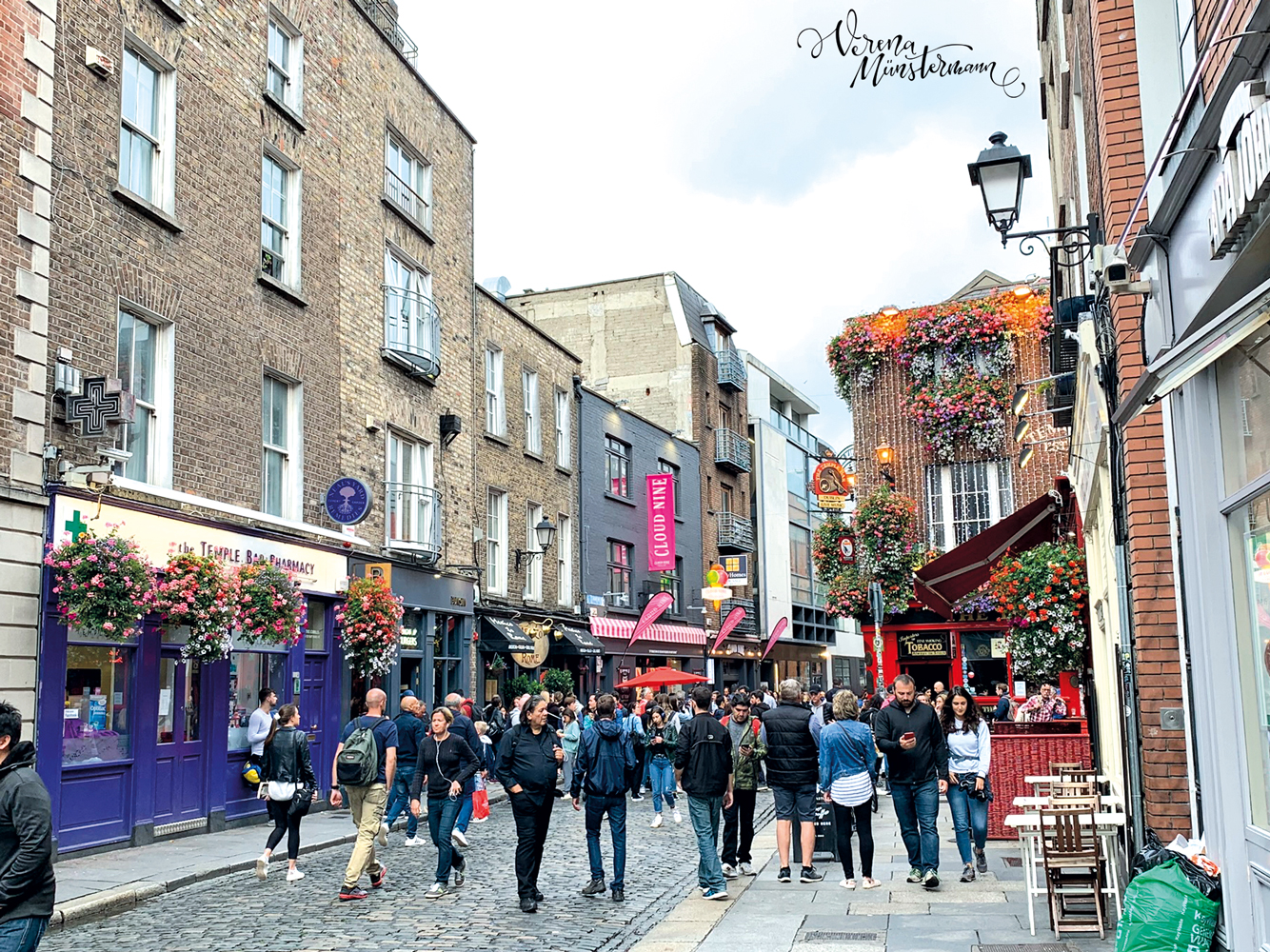 Dublin - Städtetrip - Temple Bar - verenamuenstermann.de