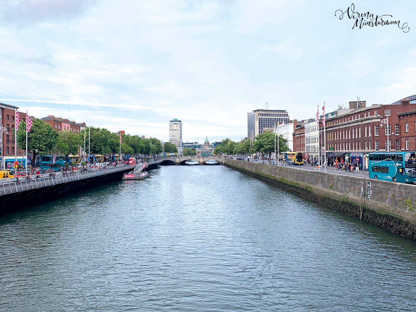 Dublin - Städtetrip - Liffey - verenamuenstermann.de