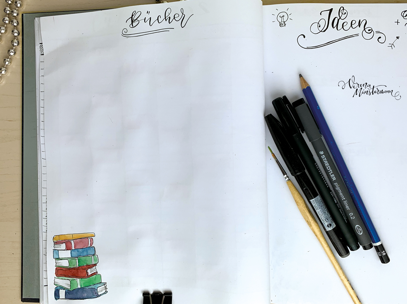 bullet Journal 2020 - bücher - moreconfetti.de