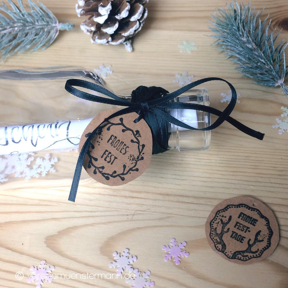 """Bastelideen zu Weihnachten mit Stempeln – """"Woodies"""""""