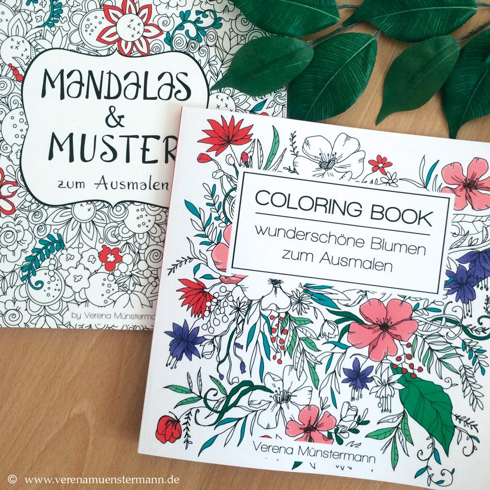 mein Buch ist endlich da: Mandalas und Muster zum Ausmalen