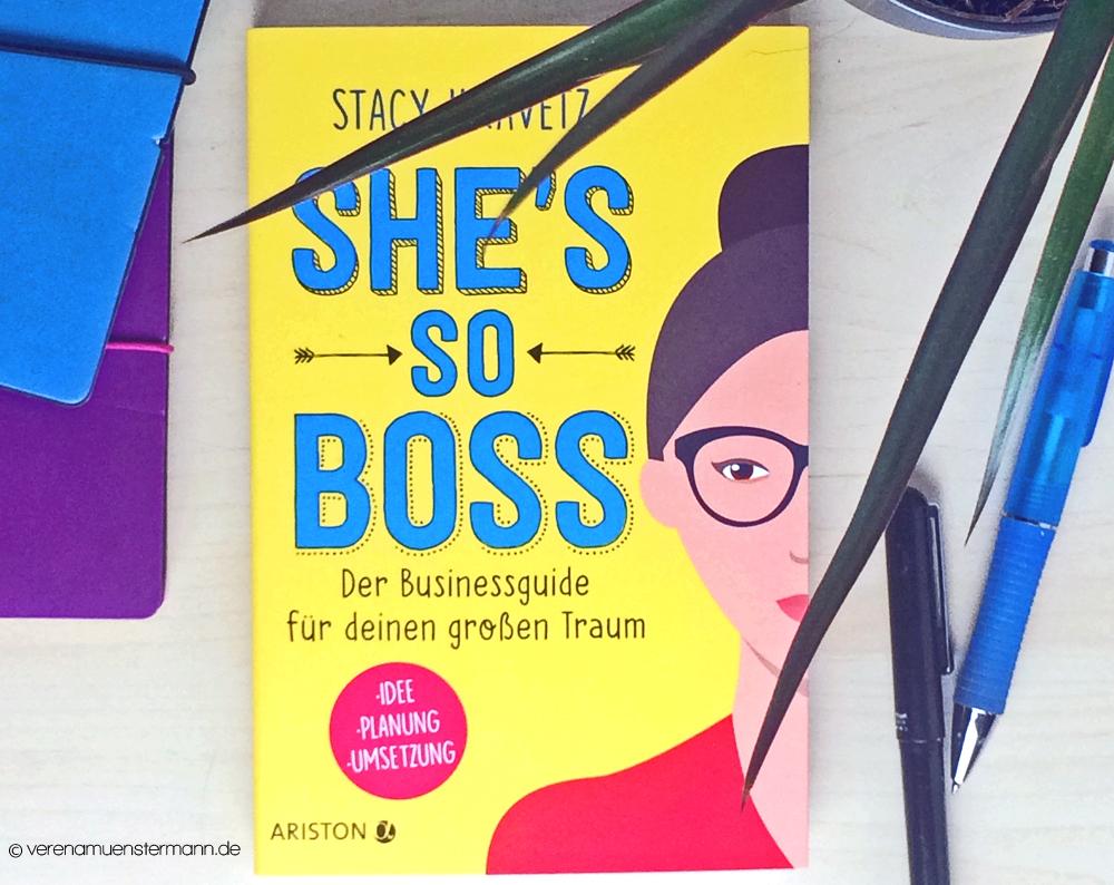 Rezension: She`s so boss – Stacy Kravetz