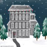 Verena Muenstermann Illustrationen Weihnachten Haus