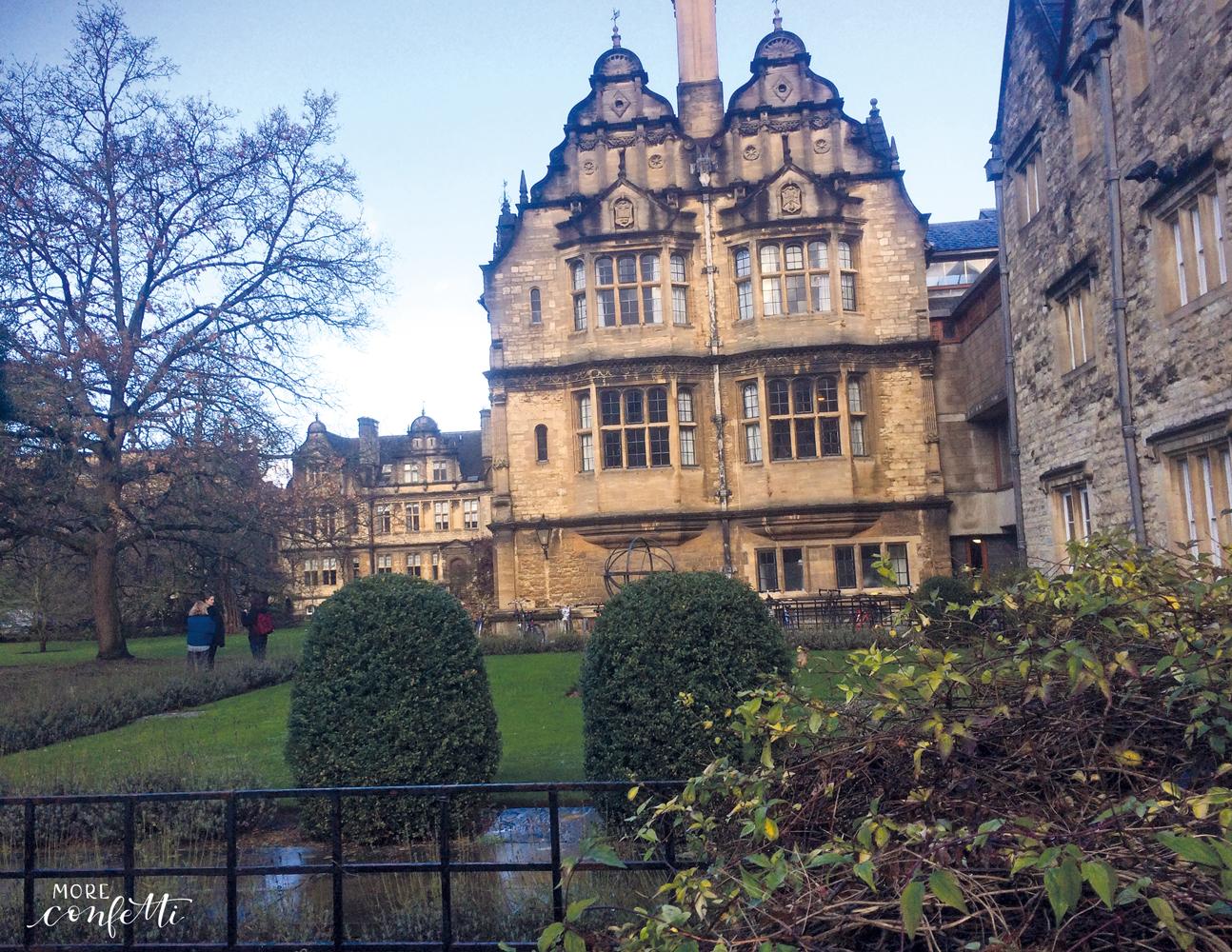 Oxford – und ein bisschen Harry Potter
