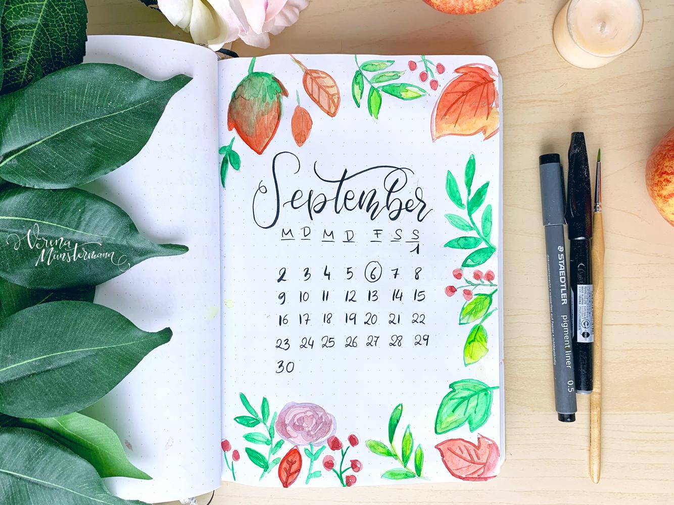 Bullet Journal – September