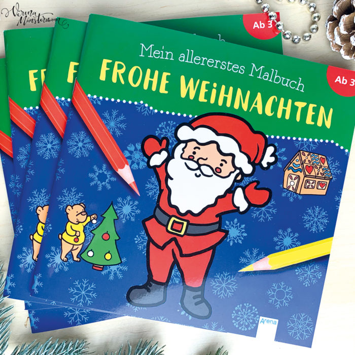 Weihnachtsmalbuch 2019 – Coloring Book